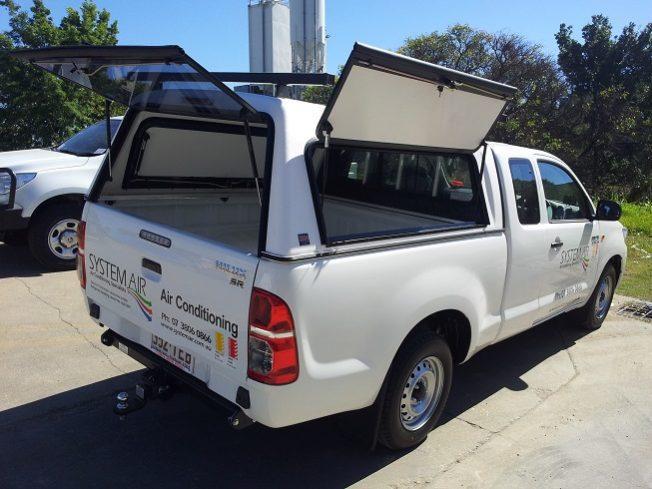Extra Cab canopy